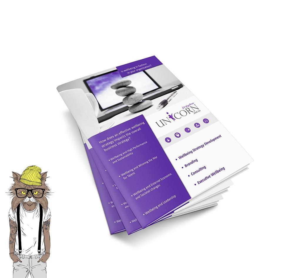 Folded Leaflet Design and Printing